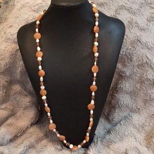 Handstrung necklace